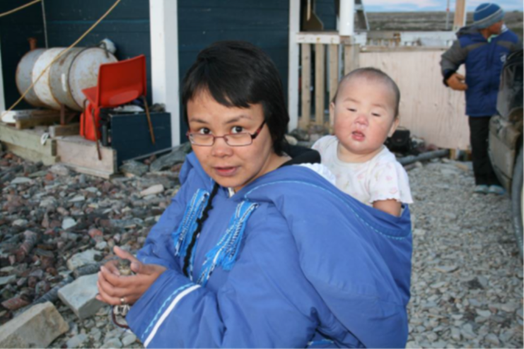 Members of the Foxe Basin Inuit Community, Canada